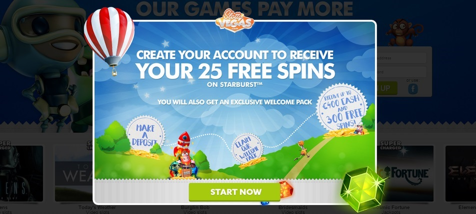 Slotty Vegas Online Review With Promotions & Bonuses
